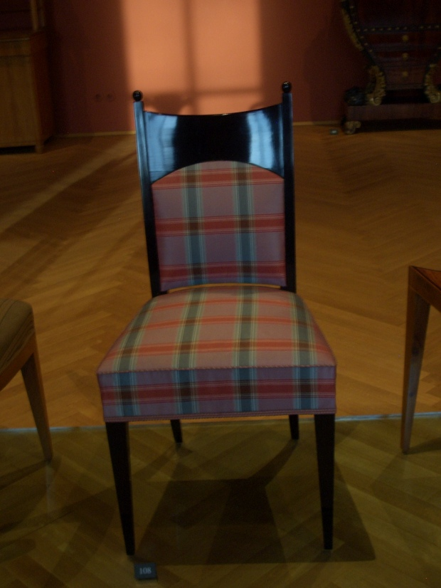 Biedermeier chair, MAK Vienna